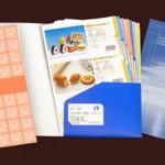 会社案内A4紙製ファイルケース-販促通販