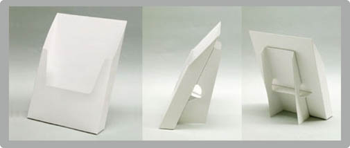 既存型で型代無料のパンフレットスタンド印刷