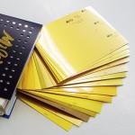 金色に輝く紙!!