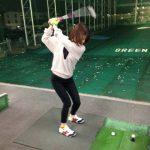 藤田社員ゴルフを始める。ゴルフ通じてマナーアップ!-販促通販