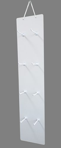 吊り下げハンガーボード 8個穴タイプ