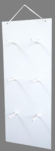 吊り下げハンガーボード 6個穴タイプ (横2×縦3)