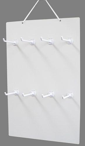 吊り下げハンガーボード 8個穴タイプ(横4×縦2)