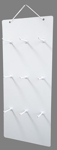 吊り下げハンガーボード 9個穴タイプ(横3×縦3)