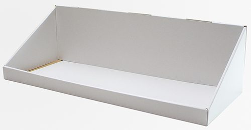 ダンボール カウンター什器ロングタイプ